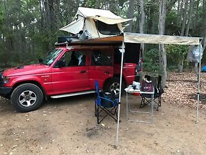 4WD Mitsubishi Pajero - Full equipment - Ideal for backpackers Brisbane City Brisbane North West Preview