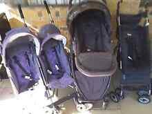twin prams, stroller, potrta cot Jimboomba Logan Area Preview