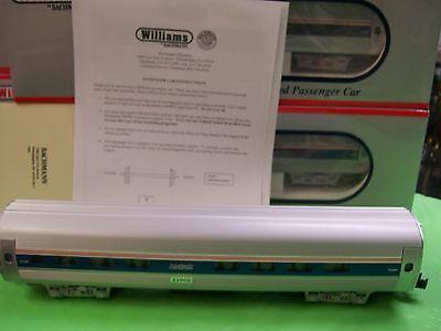 - Williams Aluminum 60'  Amtrak Amfleet Phase IV Passenger Three Car Set # 43502