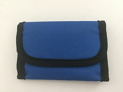 Soft Sided Unisex Wallet with Belt Strap-Royal Blue-Great Stocking Stuffer!!