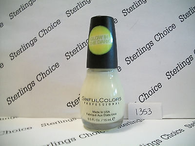 Sinful Colors Nail Polish #1353 Glow in the Dark
