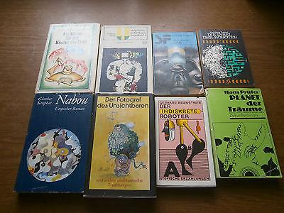 6 Bücher Fantasy/Utopie  DDR