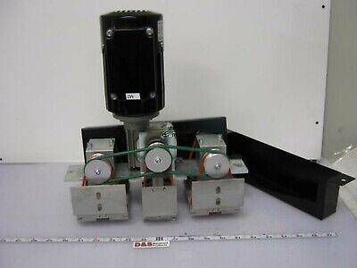 Bosch Rexroth 3842999751 00012 Tandem Lift-transfer Unit Wmotor Belts Rollers