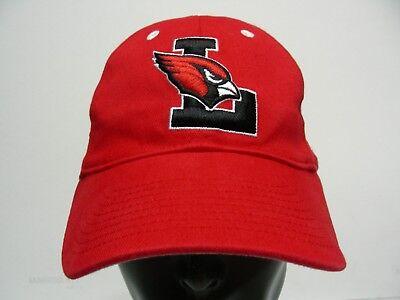 L Logo - Lincoln Cardinals - Nike - M/L Größe Stretch Fit Ball Kappe Hut