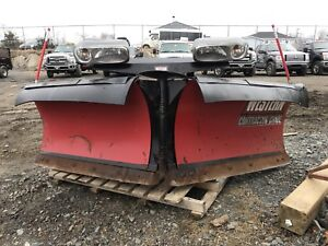 """Western V plow 8'6"""" for truck"""
