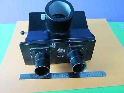 Microscope Dialux Leitz Germany Trinocular Head As Pictured Bin36