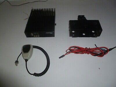 Motorola Radius 42-50 Mhz Low Band Two Way Radio W Mic Bracket D51lra9p34ak Oc