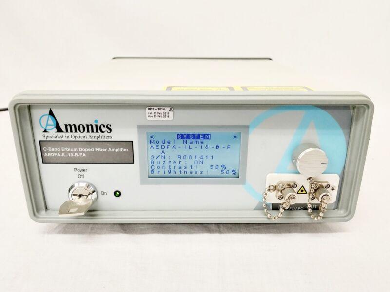 Amonics AEDFA-IL-18-B-FA EDFA C-Band Amplifier