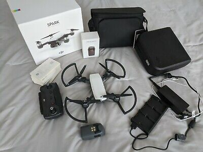 DJI Provoke Fly More Combo 1080p Camera Drone - Alpine WhiteMM1A GL100A