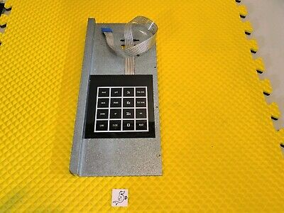 Fastcorp F631 Ice Cream Vending Machine Service Key Pad Membrane With Door