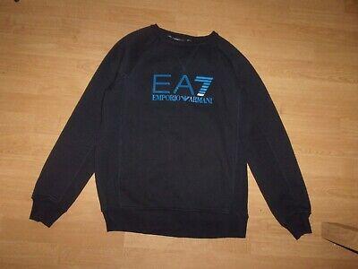 Emporio Armani EA7 Navy Blue mens sweatshirt size L