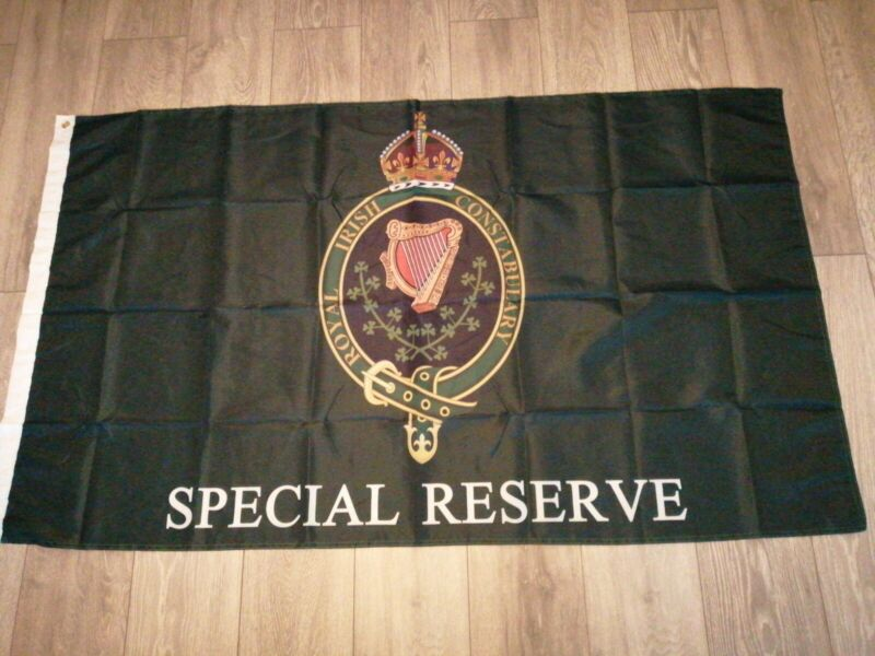 Royal Irish Constabulary Special Reserve Black and Tans Flag 5x3ft