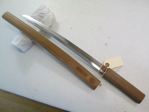 OLD KOTO JAPANESE SAMURAI wakisashi SWORD UNSIGNED ACTIVE TEMPER LINE CLEAN #C13