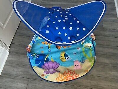 Bright Starts Disney Baby Finding Nemo Mr. Ray Ocean Lights & Music Gym