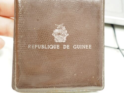 Republique De Guinee Proof Silver 500 Francs KM#15