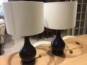 Bedside lamps. Canning Vale Canning Area Preview