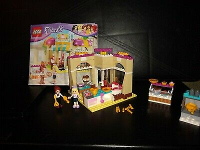LEGO FRIENDS DOWNTOWN BAKERY 41006 WITH INSTRUCTIONS NO BOX
