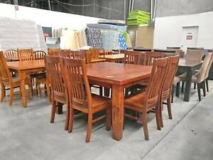 DELIVERY TODAY GOOD CONDITION 9 pcs dining table and chairs