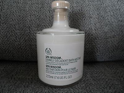 Body Shop Spa Wisdom Divinely Decadent Bath Nectar 225 ml
