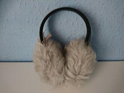 Karl Donoghue Lambskin Ear Muffs Grey/Black