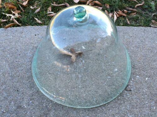 Large Antique French Garden Cloche Made in France Wonderful Patina