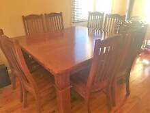 Solid Timber Doining Table and Chairs Mount Riverview Blue Mountains Preview