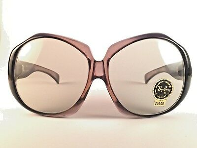 VINTAGE RAY BAN EVE OVERSIZED CLEAR LENSES FRAME CANADA  B&L (Ban Canada)
