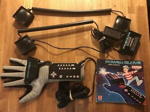 NES Power Glove with Manual