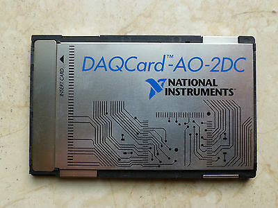 National Instruments Pcmcia Daqcard-ao-2dc Ni Daq Card Analog Output