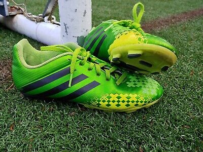 new photos 5314c a0490 Adidas Predito Youth Soccer Cleats Size US 5   EUR 37.5 - Green Yellow Black