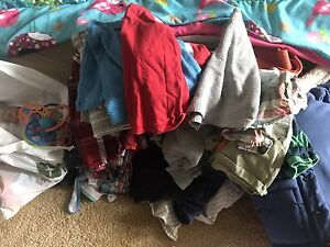 Huge lot of boys 6 to 18 months clothing and toys