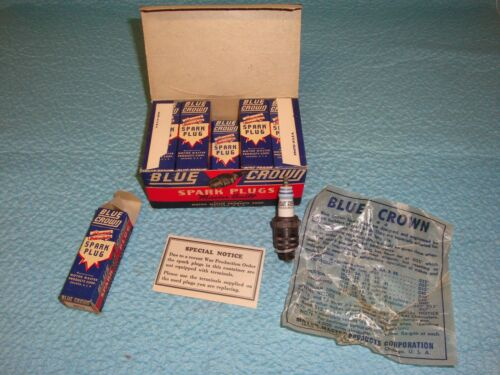 Blue Crown Spark Plugs - M11- 14MM