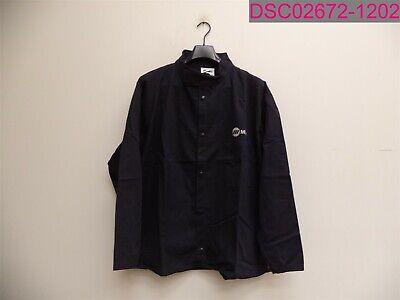 Miller Welding Jacket Flame Resistant 100 Cotton 2xl Navy 244754