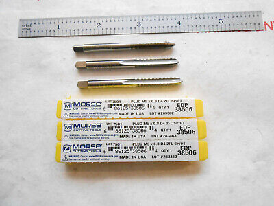 Widia GTD 4 Flutes Made in USA! Hand Tap TiN Finish 12-24 UNC Plug