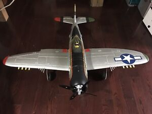"E-Flite P-47D ""The Jug"" custom colours"