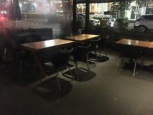 Cafe Chairs and Tables North Strathfield Canada Bay Area Preview