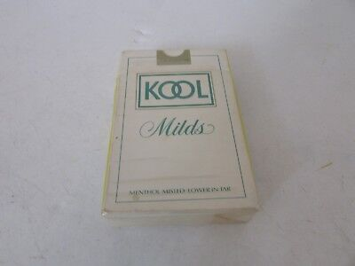 KOOL MILDS CIGARETTES DECK OF PLAYING CARDS NO JOKERS ()