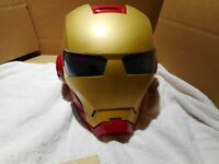 LUNCH BAG BOX SACK Iron Man 2 3 Face Helmet Mask Movie Thermos Crush Proof NEW