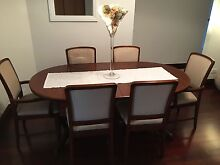 Jarrah Dinning Table & Chairs Warwick Joondalup Area Preview
