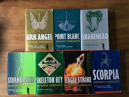 Anthony Horowitz Books set if 7