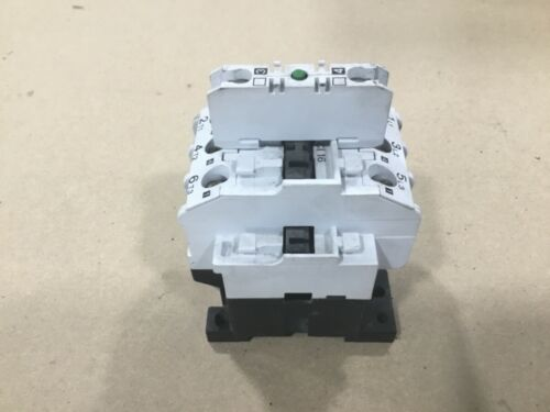 Danfoss Type CI 16 Contactor 220-230V With 037H0111 Auxiliary Contact #11E29