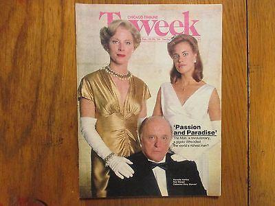 Feb 1989 Chicago Tribune Tv Week Catherine Mary Stewart Rod Steiger Tour Of Duty