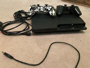 PS3 Slim Console and 24 Games