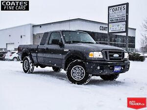 2007 Ford Ranger FX4/Off-Rd CLEAN CARPROOF NEW BRAKES AND TIRES