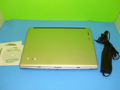 ACER Aspire 5570Z 1.60GHz Intel 2GB RAM 120GB HDD DVD+/-RW Win 7 & AC Adapter