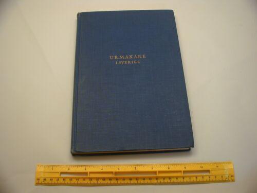 Book 473 – Urmakare I Sverige