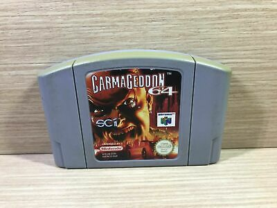 Carmageddon N64 Nintendo 64 PAL España