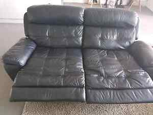 Full Leather 3 seater electric recliner Glanville Port Adelaide Area Preview