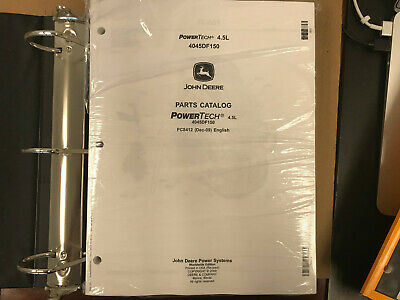 Oem John Deere Parts Catalog Powertech 4.5l 1209