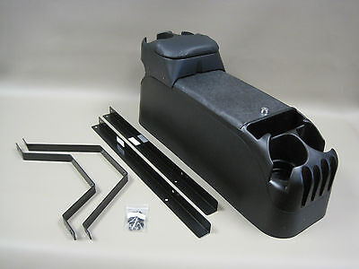 P71 Black Center Console Crown Victoria with Tip Up Armrest and Mounting Kit, used for sale  Shipping to Canada